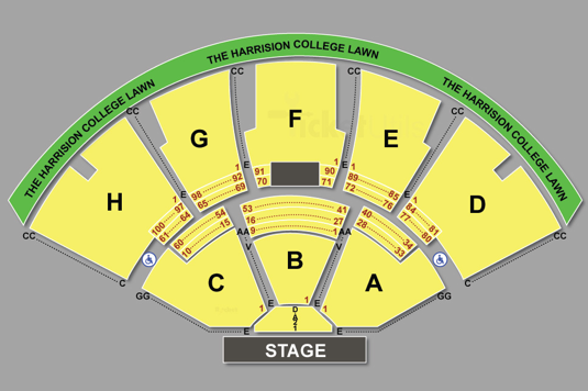Seating Chart Ruoff Music Center