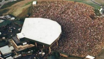 Klipsch Music Center Aerial View
