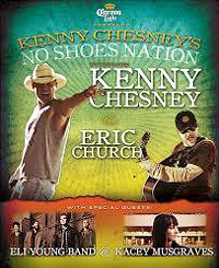Klipsch Music Centre -Kenny Chesney, Eli Young Band and Kacey Musgraves
