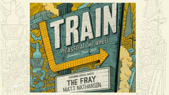 Train, The Fray & Matt Nathanson